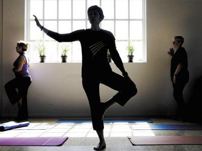 Yoga for Better Bones fundraiser